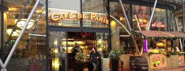 Café de Paris is one of Lugares guardados de Joshua.