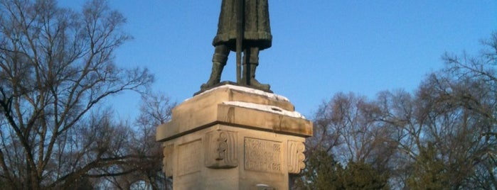 Monumentul lui Ștefan cel Mare și Sfânt is one of MDA Chisinau.