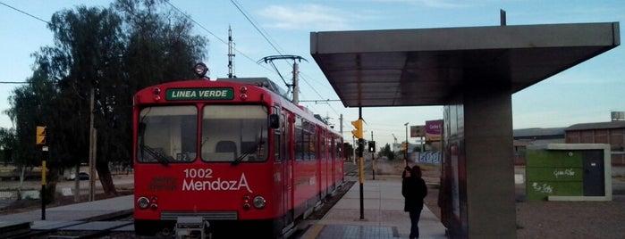 Estación Godoy Cruz (MTM) is one of Cuyo (AR).