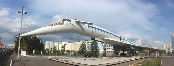 первый сверхзвуковой лайнер ту-144 is one of Locais curtidos por Taras.