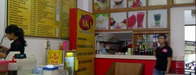 Rumah Makan AKA Express is one of Foodie women.
