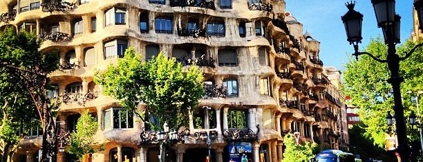 La Pedrera (Casa Milà) is one of Barcelona -: Places Worth Going To!.