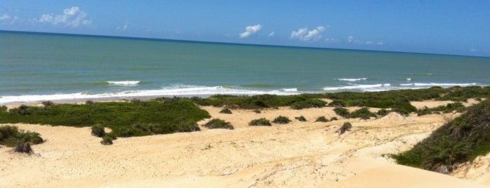 Praia de Itaúnas is one of Praias do Brasil.