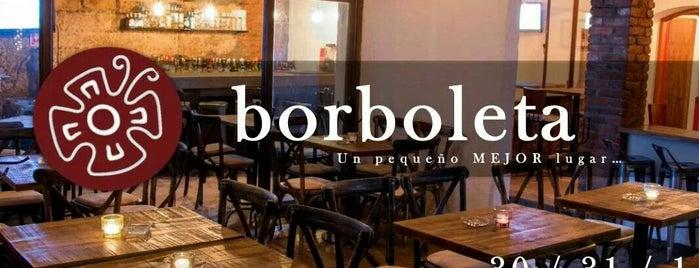 Borboleta is one of Los 100 Mejores Antros.