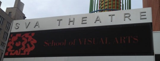SVA Theatre is one of TFF 2014: Venues.