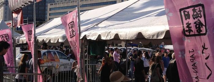 Sakura Matsuri Japanese Street Festival is one of DC.