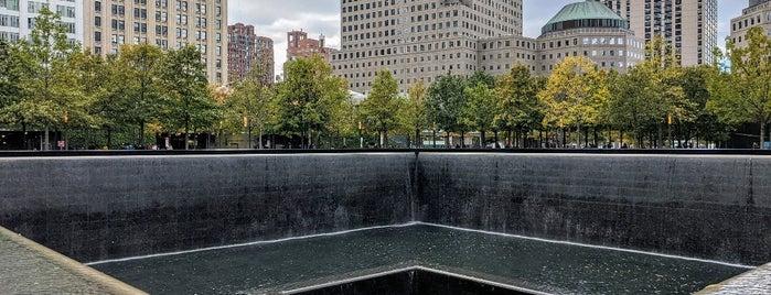 9/11 Memorial North Pool is one of Mandy.