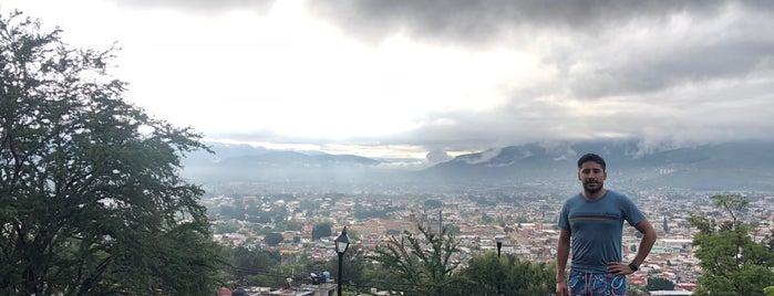 Escaleras del Fortín is one of Oaxaca.