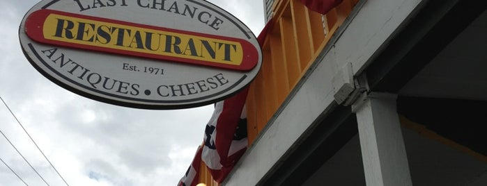 Last Chance Antiques & Cheese Cafe is one of Woodstock trip.
