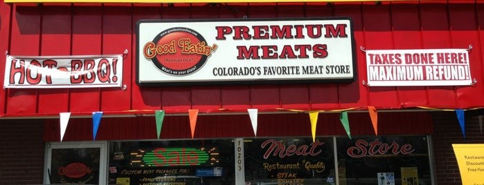 Good Eatin Premium Meats is one of Denver.