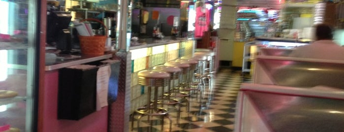 Ellie's 50's Diner is one of Delray Dining insiders guide.