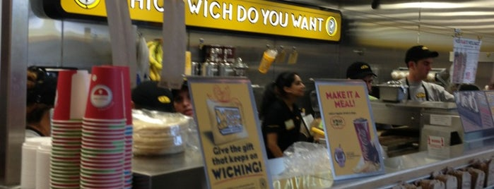 Which Wich Superior Sandwiches is one of Locais curtidos por Nick.