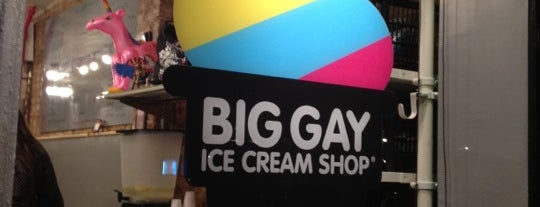 Big Gay Ice Cream Shop is one of The Essential NYU List.