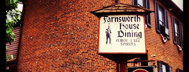 Farnsworth House Inn is one of Non restaurants.