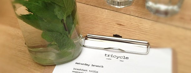 Tricycle Cafe is one of Tassie.