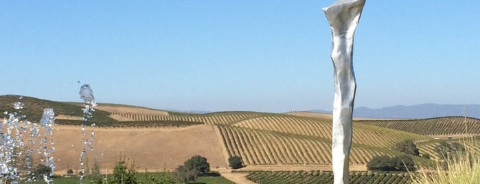 Artesa Vineyards & Winery is one of SF.