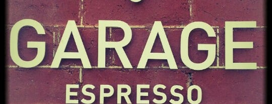 Garage Espresso is one of Cafe's to do.