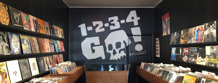 1-2-3-4 Go! Records is one of An Arty Elitist's Guide to San Francisco.