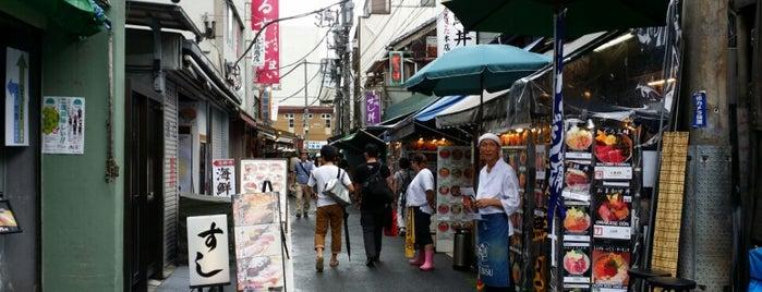 Tsukiji Outer Market is one of 行って食べてみたいんですが、何か?.
