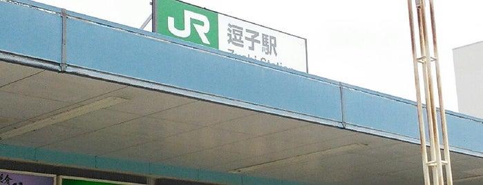Zushi Station is one of JR 미나미간토지방역 (JR 南関東地方の駅).