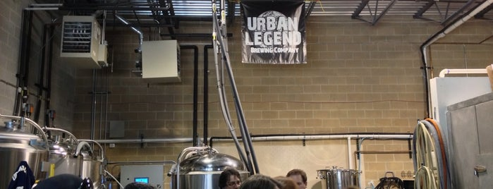 Urban Legend Brewing Company is one of Chicagoland Craft Breweries.
