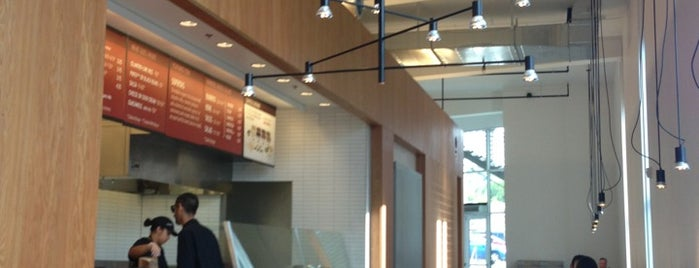 Chipotle Mexican Grill is one of los angeles.