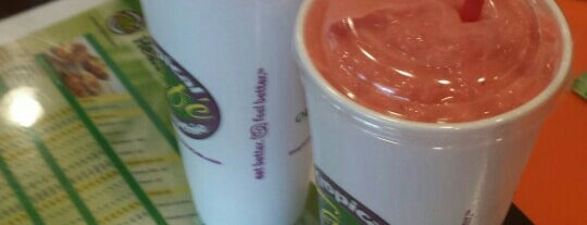 Tropical Smoothie Cafe Leesburg & Purcellville is one of 2012-02-08.
