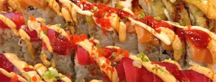 Nama Sushi is one of Amaya'nın Beğendiği Mekanlar.