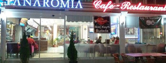 Panaromia Cafe&Restaurant is one of hakkı'nın Beğendiği Mekanlar.