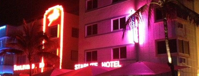 Starlite Hotel Miami is one of Lugares favoritos de Davide.