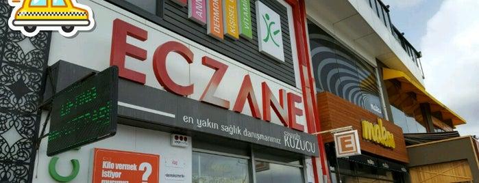 Çayyolu Kuzucu Eczanesi is one of สถานที่ที่ Pınar ถูกใจ.