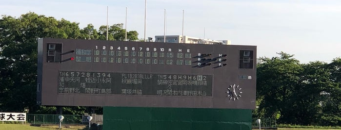 千葉県野球場 is one of Lugares favoritos de devichancé.