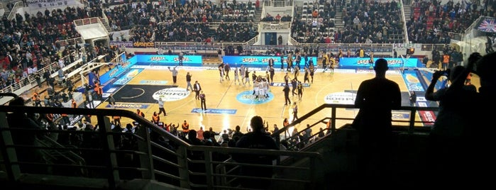 ΠΑΟΚ Sports Arena is one of Giannis'in Beğendiği Mekanlar.