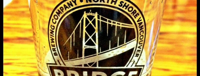 Bridge Brewing Company is one of Lugares favoritos de John.