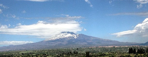 Etna is one of South Italy.