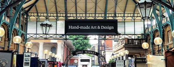 Covent Garden Market is one of London Calling: LDN To Do.