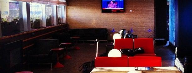 Alitalia Welcome Lounge is one of Free wi-fi venues.