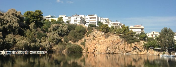 Lake Voulismeni is one of Crete.