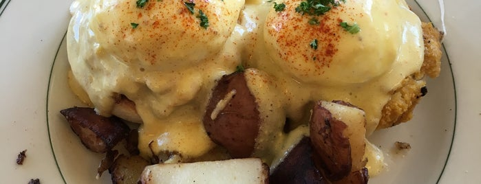 Mama's on Washington Square is one of America's 50 Best Eggs Benedict Dishes.