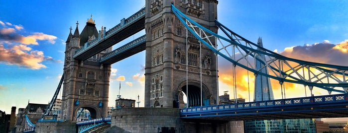Tower Bridge is one of Go Ahead, Be A Tourist.