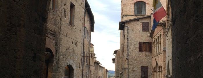 San Gimignano is one of Locais salvos de Pelin.