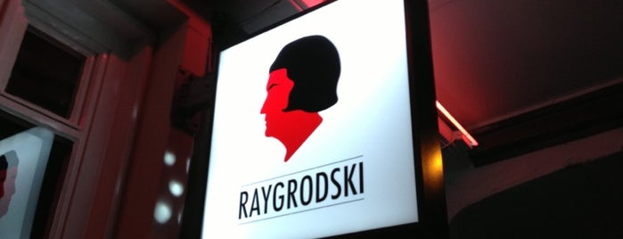 Raygrodski is one of Zurich.