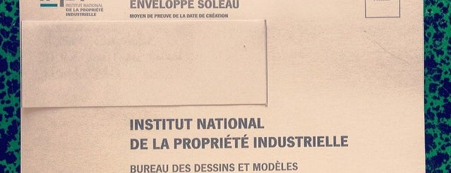 Institut National de la Propriété Industrielle (INPI) is one of Tempat yang Disukai Thomas.