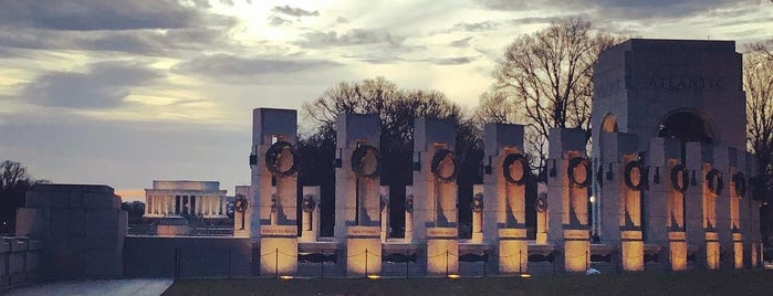 World War II Memorial is one of Washington, DC Wish List.