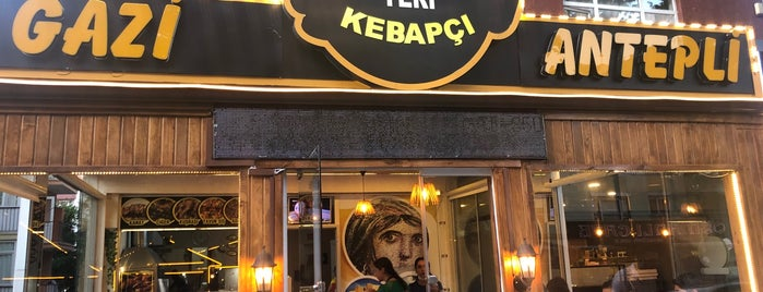 Gaziantepli Kebapçı Erkan Ustanın Yeri is one of Lugares guardados de Halil G..