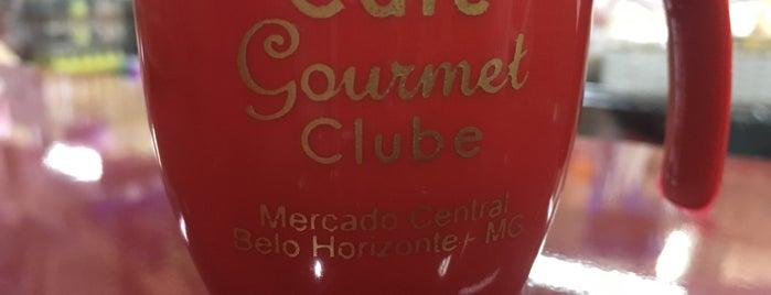 Café Gourmet Club is one of cafeterinhas bh <3.