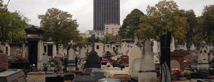Cimetière du Montparnasse is one of Paris.