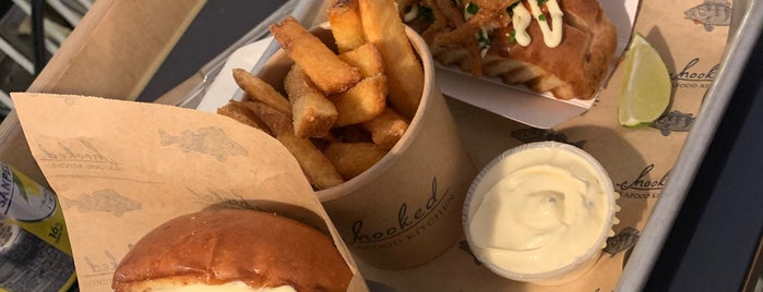 Hooked Street Food Kitchen is one of CPH TOP.