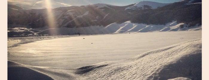 Campo Felice is one of Dove sciare.