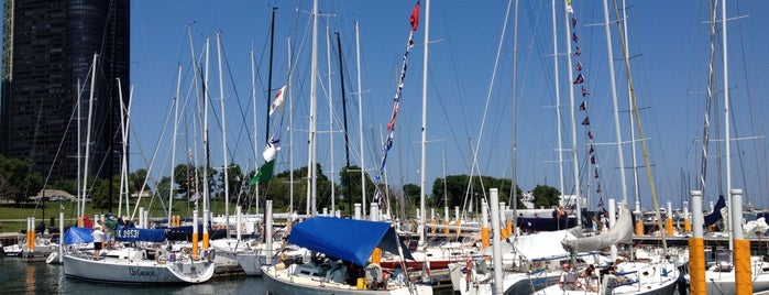 Chicago Yacht Club is one of Lugares favoritos de Andre.
